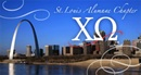 Chi Omega alumni logo for donated sponsor
