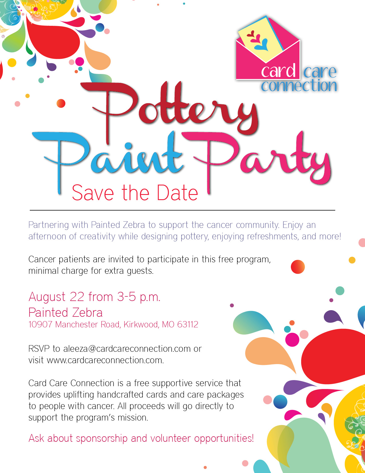 Potery Paint Party